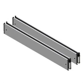 Cross rails for steel plate