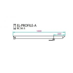 EL-1 Profile 1000 mm - A