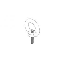 Suspension bolt, 1231-2