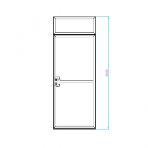 Door for textile graphics