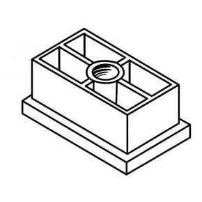 Ferrule D30x50-6G/M10 zinc