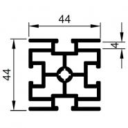 Upright profile SF-44-44-4